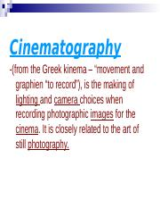 Cinematography.ppt