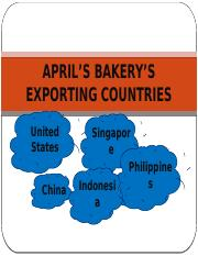 Group 4 April_s bakery_s exporting countries.pptx
