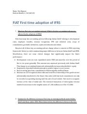 FIAT First time adoption of IFRS.docx