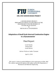InternalCombustionEngine-FinalReport-Spring2010