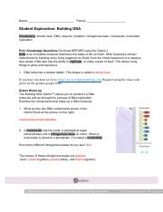 buildingdnase_key - Building DNA Answer Key Vocabulary ...
