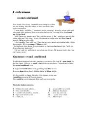 Confessions-Second-Conditional
