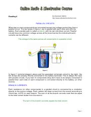 -EE- (ebook) Teach.Yourself.Electronics - 06 - Parallel Circuits.pdf
