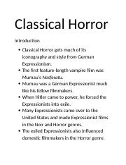 3.2Classical Horror.docx