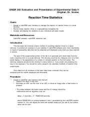 ENGR 201 Lab3 Reaction Time035