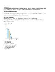 Mat Mat 231 Calculus 1 Thomas Edison State Page 1