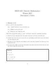 Discussion Notes 1_Solution
