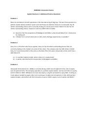 Workshop Week 6 - Capital Structure 1 additional practice questions.pdf