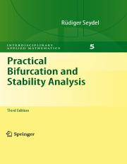 Rüdiger Seydel auth. Practical bifurcation and stability analysis.pdf