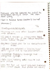 World Religion Notes 3