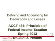 06_Defining and Accounting for Deductions and Losses