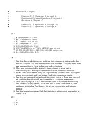 ACC410 Assignment1 - Running head CAFR REPORT COMPARISON