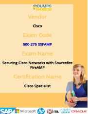 500-275 Cisco Preparation Material For Best Result
