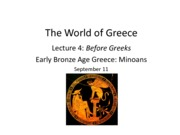 Lecture 4_Before Greeks_Minoans
