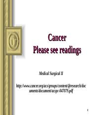 MS II Cancer student F16.ppt