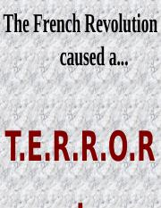 French Revolution - TERROR.ppt