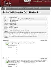 bio 135 test review Quia web allows users to create and share online educational activities in dozens of subjects, including biology.