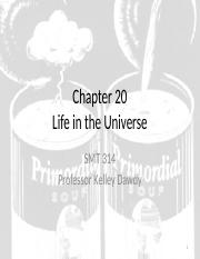 Chapter 20 - Life in the Universe(1).pptx