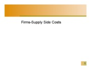 Firm-Supply Cost