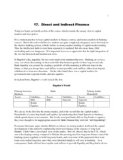 money2-lectures-Lec 17--Direct and Indirect Finance