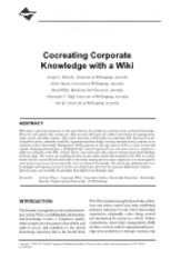 Cocreating_Corporate_Knowledge_with_a_Wiki