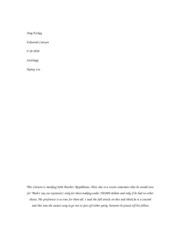 principles of disease and epidemiology essay