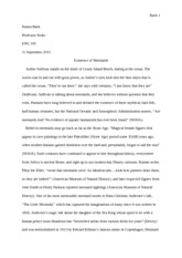 Research Essay ENG 105 sec ND HNB