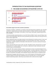 5 - The Arab occultation of Palestine.docx