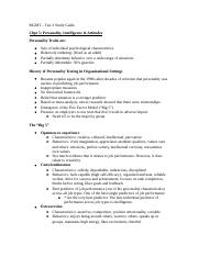 MGMT Test 2 Study Guide