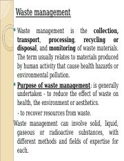 Lecture 19 Waste Management.ppt