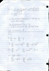Multivariable Calculus 10.10 Homework Solutions