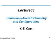 Lecture03-Unmanned-Aircraft-Geometry-Configurations