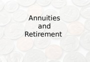 Annuities and Retirement_Fall_2015.pptx
