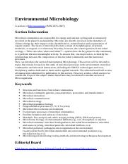 Environmental Microbiology.docx