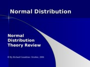 9.1 Normal Distribution.ppt