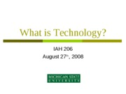 3 lecture_2_what_is_technology