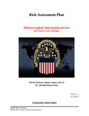 IS 3110  PROJECT PART 1 TASK 2  RISK ASSESSMENT PLAN 07 28 2013-2