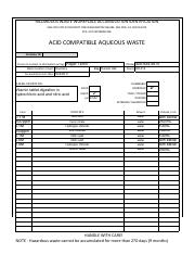 Acid Aqueous haz waste form.pdf