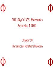 PH1104 Chapter 10 Lecture Slides (Aug 2014 Group Phi).pdf
