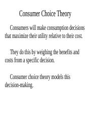 Consumer Choice-7.ppt