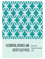 T1 Accounting Profession