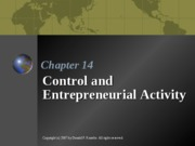 ENTR 3312 - Chapter 14