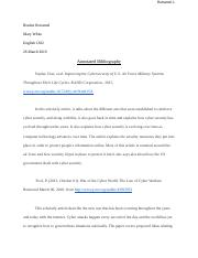 Response Paper 4 (Annotated Bibliography).docx