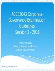12A ACC03043 Corporate Governance Examination Guidelines-2.pptx
