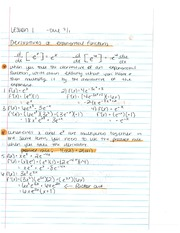 C. Stevens Business Calculus II NOTES