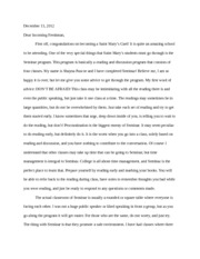 In the Lake of the Woods essay