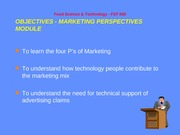 MarketingPerspectivesFST 650