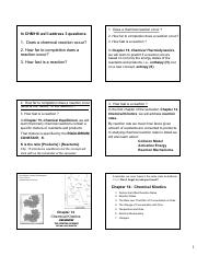 Brown LeMay Chapter 14 Chemical Kinetics BbVS17 Notes