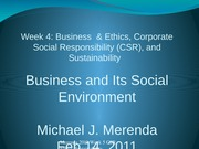 Admn 400 week 4 CSR & Ethics(4)(1)