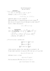 MA1505 Tutorial 9 Solutions